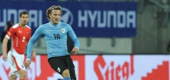 Forlán fue la figura de Uruguay en la Copa de 2010