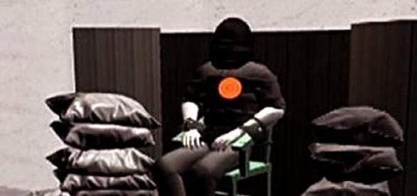 Ilustración de una ejecución en la cárcel de Utah.