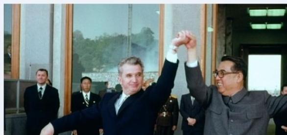 Kim Ir-sen si Ceausescu-1971