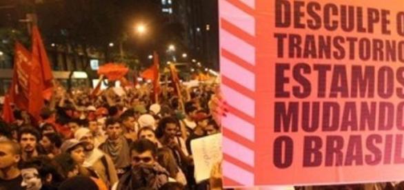 Manifestações Pacíficas fazem parte de uma nação