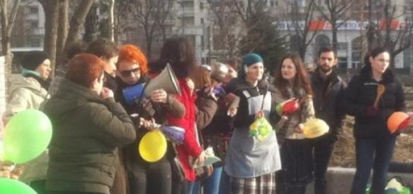 Protest feminist Bucuresti duminica 8 martie 2015