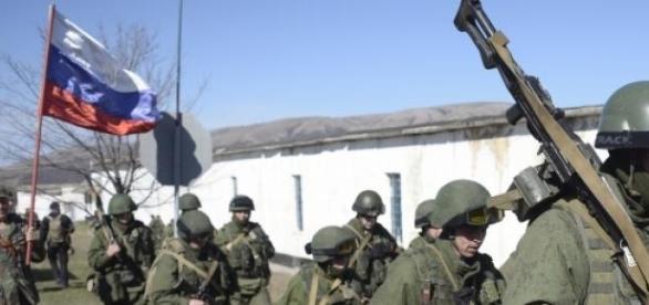 Soldati ai armatei ruse in Ucraina