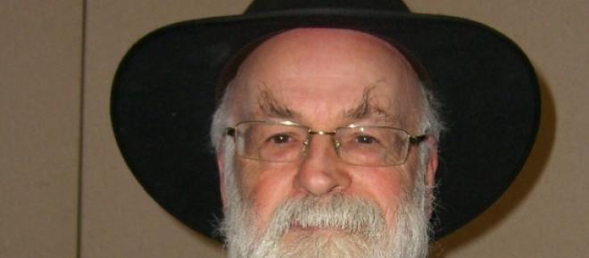 Scriitorul Terry Pratchett