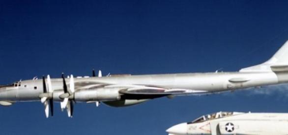 Avioane rusesti interceptate de SUA