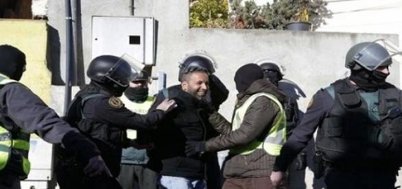 Detención de uno de los presuntos yihadistas