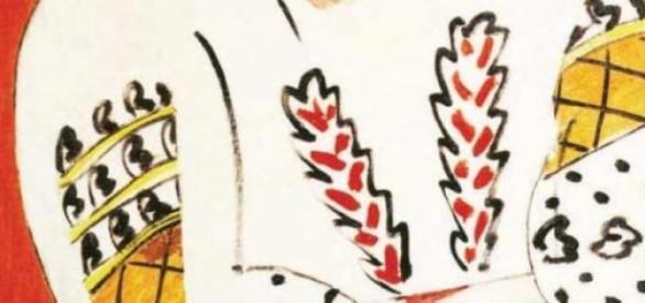 "Pictura lui Henri Matisse, ""La Blouse Roumaine"""