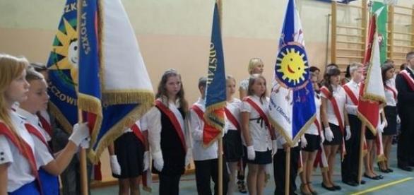 Rozpoczęcie roku szkolnego w Szczodrem