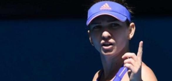 Simona Halep la Indian Wells