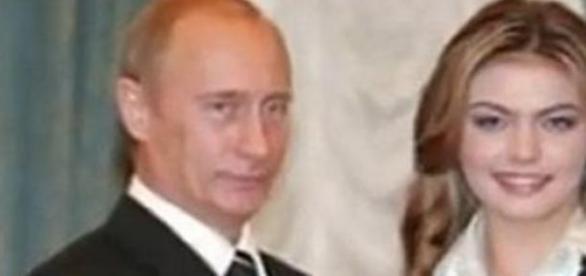 Władymir Putin i Alina Kabajewa