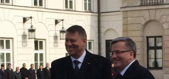 Klaus Iohannis a batut palma cu Polonia