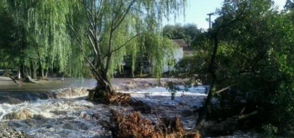 Las inundaciones en Córdoba Sierras Chicas