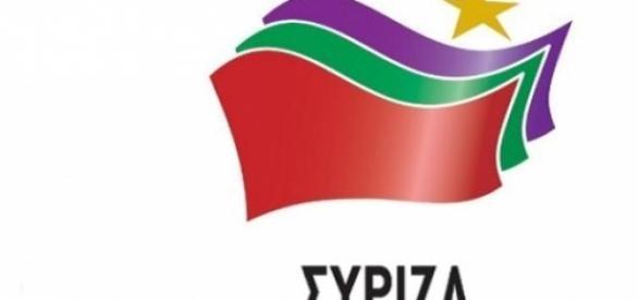 Logo de Syriza, el partido de Alexis Tsipras.