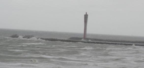 Marée de tempête à Ostende (Photo (c) R. Genicot)