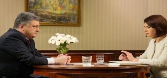 Petro Poroszenko w wywiadzie dla 1+1