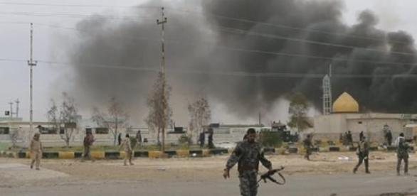Bataille lancée par les forces irakienne