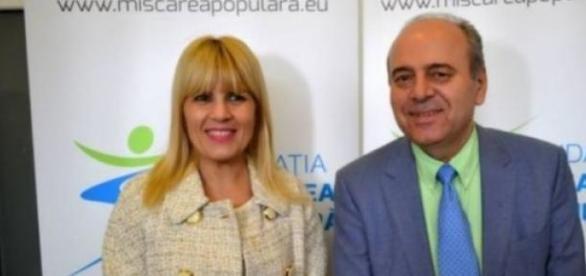 Elena Udrea si Gheorge Stefan cand erau fericiti