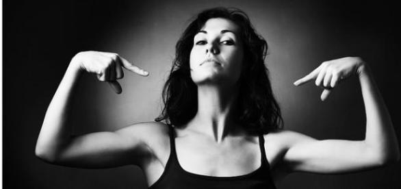 Femeia puternica, creatie a societatii moderne