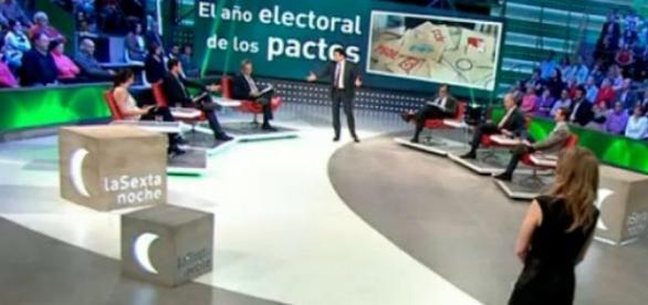 'La Sexta Noche' debate sobre Podemos y Venezuela
