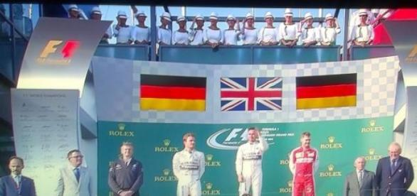 primer podium de la temporada en Australia