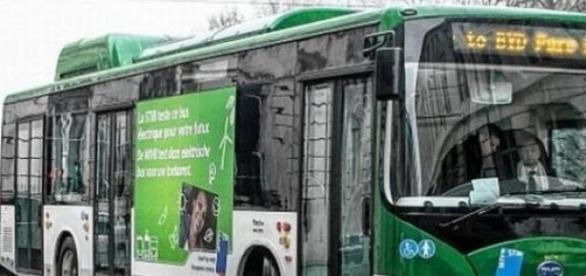 autobuz electric in Bucuresti