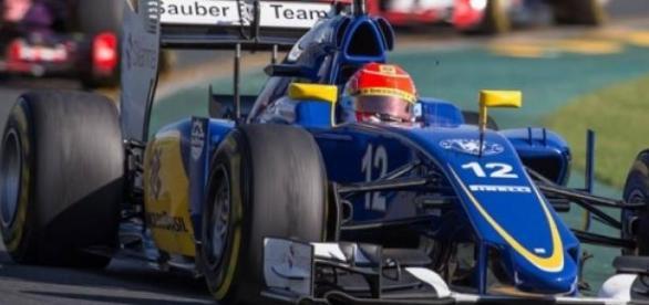 Felipe Nasr no GP da Austrália