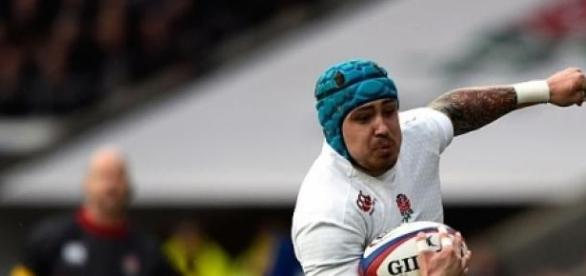 Jack Nowell scored England's third try