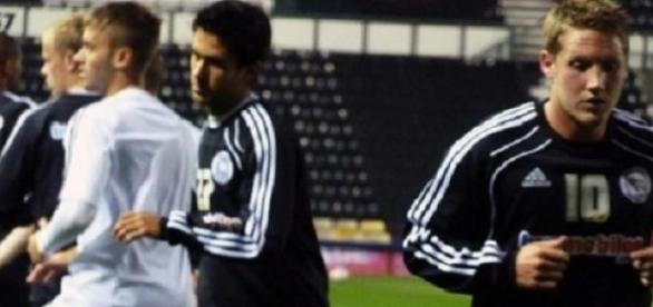 Kris Commons (right) scored Celtic's opener