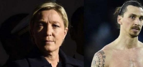 Marine Le Pen clashe Zlatan, à raison ?
