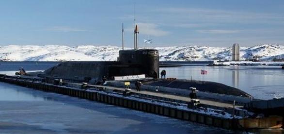Podwodny okręt atomowy Floty Północnej