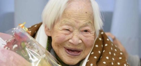 Misao Okawa - cea mai in varsta persoana din lume