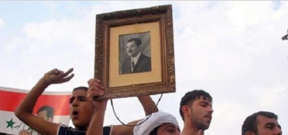 Mormantul lui Saddam este un punct strategic