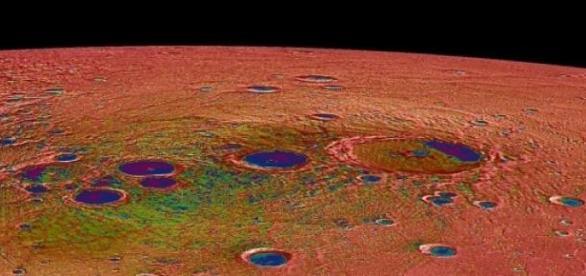 Son imágenes asombrosas del planeta Mercurio