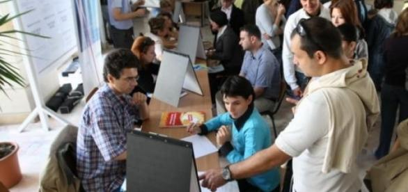 a crescut rata somajului in Romania