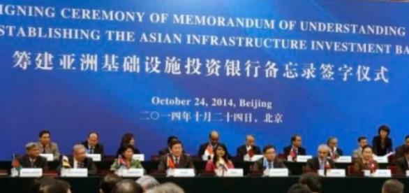 Conducerea noii banci AIIB