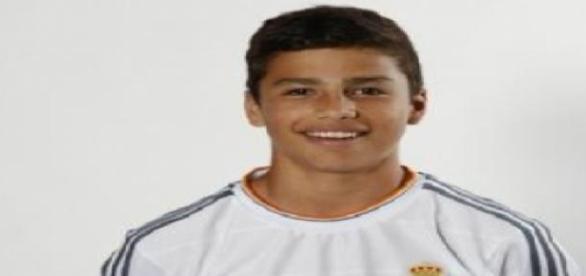 Paolo Medina, el extremo mexicano del Real Madrid