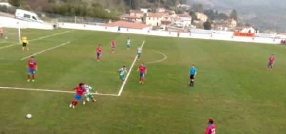 Sporting B venceu no Estádio Carlos Osório.