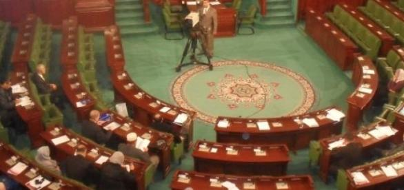 Tunezyjski parlament w budynku muzeum Bardo