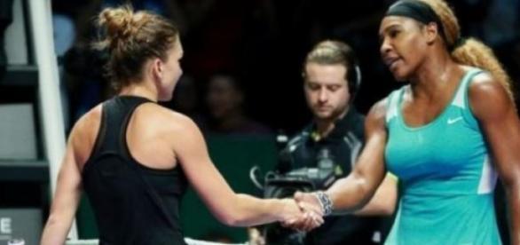 Diferenta de gabarit uriasa intre Simona si Serena