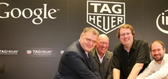 Google, Intel and TAG Heuer enter a partnership.