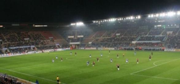 Le stade de la Meinau, jardin du RCS depuis 1906.