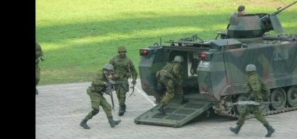 Lituania efectueaza exercitii militare