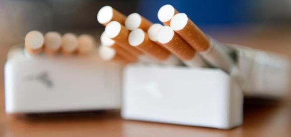 paquet de cigarettes ouvert - tabagisme