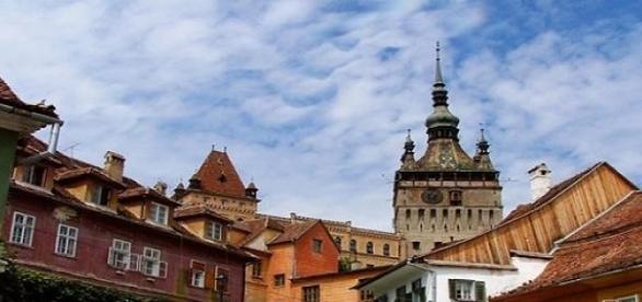 Turnul cu Ceas este un simbol al cetatii