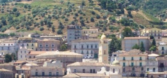 Il centro storico di Rossano