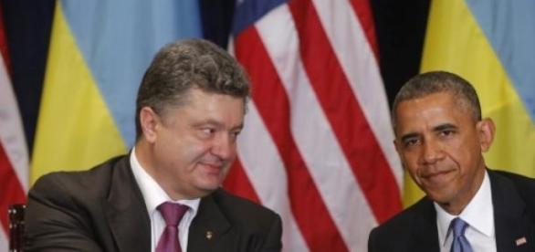Petro Poroshenko si Barack Obama