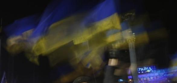 População da ucrânia aterrorizada
