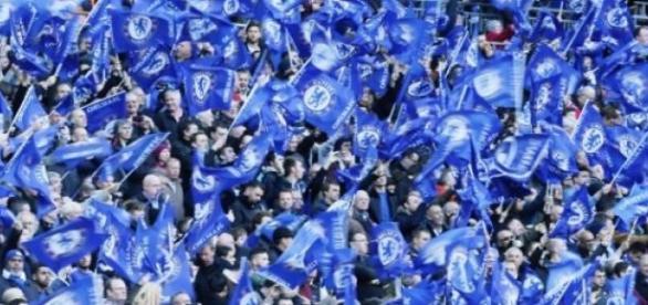 Wembley stało się niebieskie.