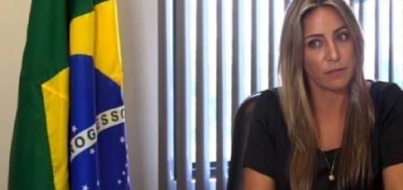 Francieli. Foto: Reprodução/TV Globo