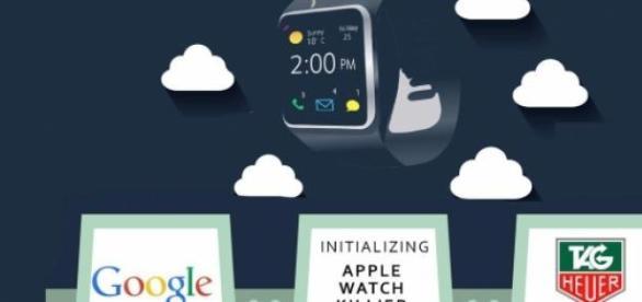 Google, Intel y TAG Heuer crearán un smartwatch