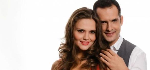 Madalin Ionescu si sotia sa